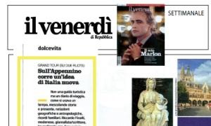 Recensione di Appenninia sul Venerdì di Repubblica