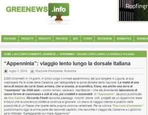 Recensione Appenninia su Green News