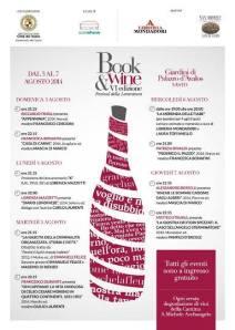 Book & Wine Festival di Vasto. Il programma